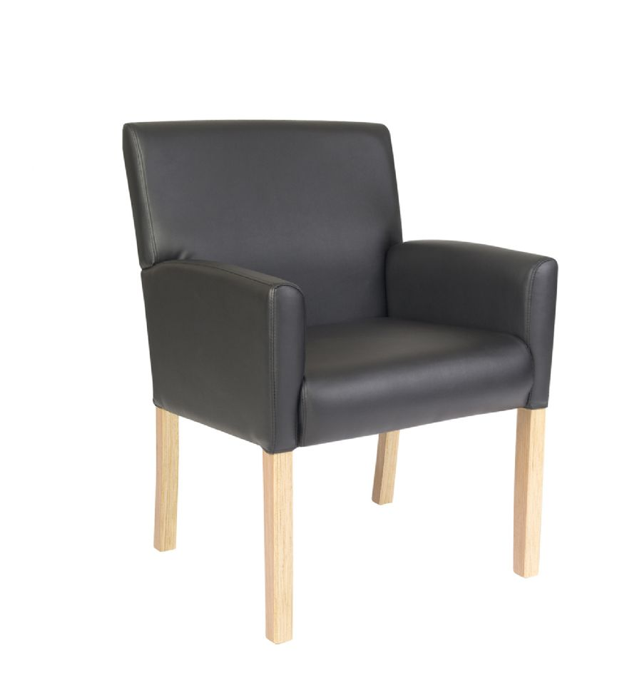 LE PAZ UPHOLSTERED VISITOR CHAIR